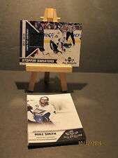 2010-11 Panini All Goalies Stopper Sweaters Black #12 Mike Smith + 10 Base
