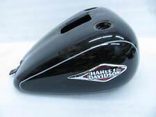 Harley Softail Gas Tank Custom Heritage Fat Boy Springer Slim Lo Vivid Black