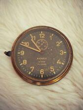 Vintage WW2 Luftwaffe Junkers aircraft 8 days Clock Kienzle