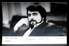 Autographed Photo dédicacée Juan Pons Scala 1981 NM