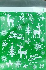 Poly Mailers Designer Shipping Bags Christmas Holiday Gifts 25 Bags 10'x13'
