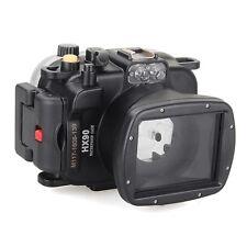 Meikon 40m/130ft Underwater Waterproof Diving Camera Housing for Sony HX90 HX90V