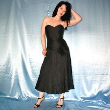 trägerloses Corsagenkleid Gothic schwarz* S COCKTAILKLEID* Etuikleid* Abendkleid