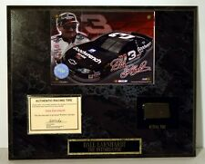 Dale Earnhardt, Sr. Plaque with Piece of RACING TIRE WINSTON CUP FREE SHIPPING !