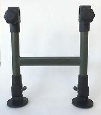 MDI CARP Lettino doppio gamba Morsetto Su Supporto compatibile con Fox, Trakker,