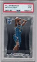 NBA card 2012‐13 PANINI Prizm Anthony Davis Base #236 Rookie PSA9