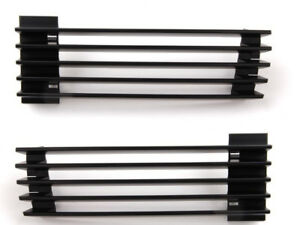 BMW Genuine E31 8-Series Left+Right Air Inlet Grid Grilles Outside Kidney Grills