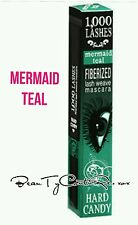 Hard Candy 1000 Lashes Fiberized Lash Weave Mascara MERMAID TEAL green NEW 1,000
