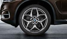 BMW Satz Alufelgen 21 Zoll Doppelspeiche 215 Ferricgrey  X5 E70  X5 F15 X6 F16