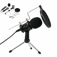 Professional Microfone Live Show Condenser Microphone Studio Recording Mic New