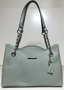 Jessica Simpson Woman's Double Compartment Tote, Mint Green Color