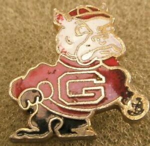 -University of Georgia Bulldogs Vintage Tie Tack Lapel Pin athletics football