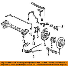 Acura HONDA OEM 91-95 Legend Rear Suspension-Protector Right 52357SP0A00