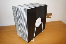 """VINYL RECORD STORAGE RACK 12"""" LP SINGLE STAND HOLDS APPROX 45"""