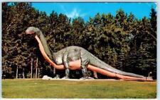 CALGARY, ALBERTA  Canada   DINOSAUR  ~ ST. GEORGE'S ISLAND   Postcard