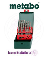 METABO HSS-G 25 PIECE DRILL BIT SET IN METAL CASE, 1 TO 13MM - 627154000