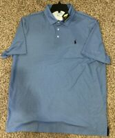 Polo Ralph Lauren Men's Sz XL Geometric Print Polo Shirt Blue $98.50