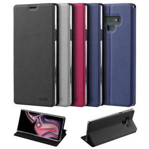 Flip Case Samsung Note 9 Magnet Cover Aufstellbar Ständer Hülle Schale Etui