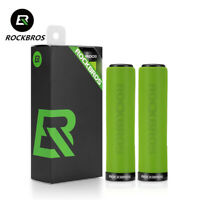 RockBros Bicycle Handlebar Grips MTB BMX Bike Lock-on Grip Silicone Sponge Soft