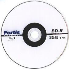 Fortis Blu-Ray DVD 4x BD R 25 GB 1 disco grabables en Manga