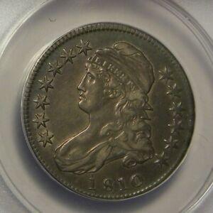 1810 Half Dollar: ANACS EF40:
