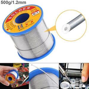 60-40 Tin Rosin Core Solder Wire Soldering Sn60 Pb40 Flux 2% 1.2mm 500g / Roll