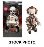 "Mezco Designer Series IT (2017) Talking Pennywise 15"" Doll Figure (damaged box)"