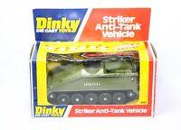 Dinky 691 Striker Anti Tank Vehicle In Its Original Box - Near Mint Vintage