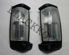 Front Corner Turn Signal Light White Lens for 86-89 Nissan D21 Pickup Frontier