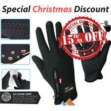 Men Touchscreen Gloves Anti Slip Waterproof Windproof Winter Warm Cycling Gloves