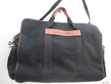 -AUTHENTIQUE grand sac voyage LANCEL toile noire en TBEG vintage bag