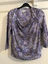Ladies CC Purple Top Sixe M Petite