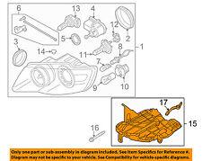 Vw Volkswagen Oem Touareg Headlight Head Light Lamp-Mount Bracket Left 7L6941291