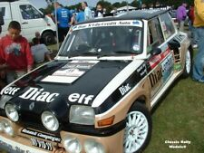 Renault 5 Maxi Turbo CD 98 detailed photos Group B Rally