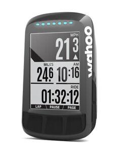 Wahoo ELEMNT Bolt Steath Edition GPS Bike Computer Bluetooth ANT+ NEW