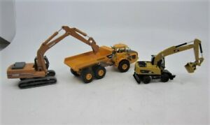 Lot of 3 Norscot Construction Equipment Vehicles 1:87 Scale