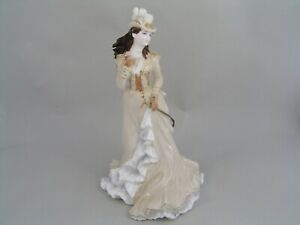 "COALPORT HELENA RIDING IN HYDE PARK 9"" FIGURINE, FROM THE BELLE LA EPOQUE SERIES"