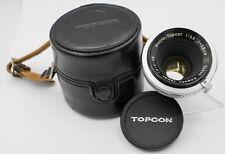 Rare - Topcon Macro-Topcor 5.8cm 58mm F3.5 Exakta KE Mount Lens - 158th Made
