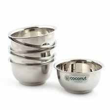 Coconut Stainless Steel Lotus Bowl/Vati/Katori - Set of 6 (9.5 cm Diameter)