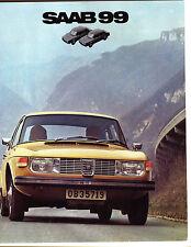 1972 Saab 99 Sales Catalog