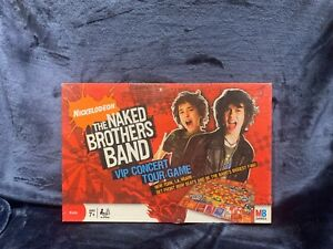 Nickelodeon - The Naked Brothers Band - VIP Concert Tour Game 2008 NEW Sealed