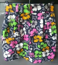 FRENCH CONNECTION Cotton Floral Mini-Skirt.Size UK 8.