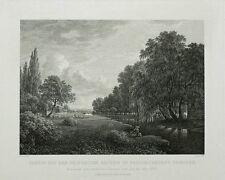 Acquaforte 1833-Dresda Friedrich città-Veith