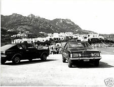 Ford Taunus TC GXL Coupe & Sedan Original 1973 Italian Roma Press Photograph
