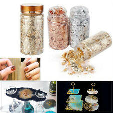 Imitation Gold Leaf Flakes Copper Fragments for Nail Art 3D Craft Diy Resin Mold