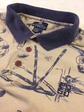 Vintage GIVENCHY Active Wear Men's Golf Polo Shirt Clubs Balls Golfer Size XL