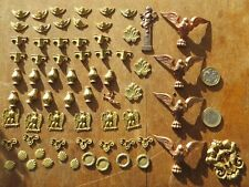 A COLLECTION OF VICTORIAN BRASS AND COPPER ANTIQUE BOX DECORATIONS NEW OLD STOCK