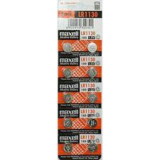 Maxell LR1130 1.5V Alkaline Battery 10 Batteries