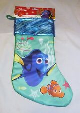Finding Nemo Dory Disney Pixar Coastal Christmas Beach Holiday Gift Bag Stocking