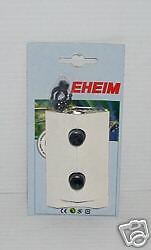 EHEIM 4015150 - 16mm SUCTION CUP/ PIPE CLIP x 2. AQUARIUM FILTER